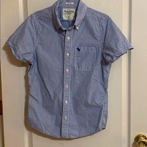 Abercrombie men's dress shirt